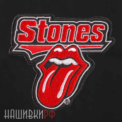 Нашивка термо. Rolling Stones