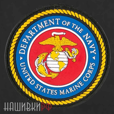 Нашивка Department of the navyunited states marine corps