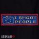 Нашивка для фотографа I SHOOT people
