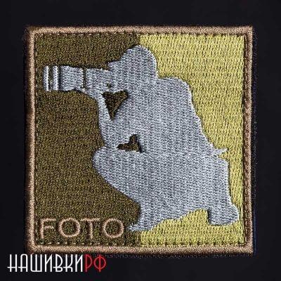 Нашивка для фотографа в стиле 5.11