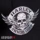 Комплект нашивок на куртку Harley Owners Group, ST. PETERSBURG, RUSSIA
