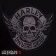 Нашивка на спину Harley Owners Group череп с крыльями