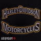Комплект из двух термо нашивок на спину motorcycles Harley-Davidson