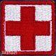 Нашивка крест для аптечки