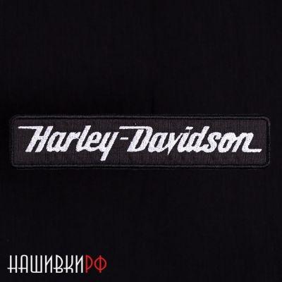 Прямоугольная нашивка с надписью Harley-Davidson