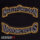 Две термо нашивки на грудь motorcycles Harley-Davidson