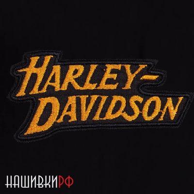 Нагрудная нашивка с надписью Harley-Davidson