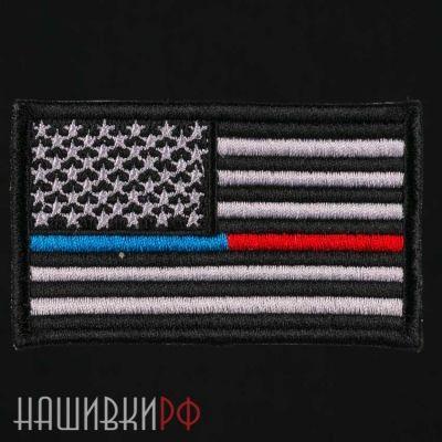 Термонашивка на грудь флаг США