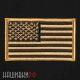 Термо нашивка Американский флаг