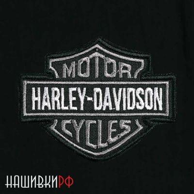 Нашивка с логотипом Harley Davidson. Купить нашивку Харлей