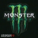Нашивка термо. Monster Energy