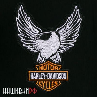 Нашивка Харлей Дэвидсон с орлом