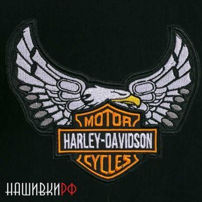 Нашивка орел Harley Davidson