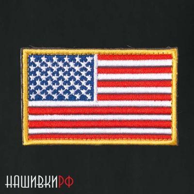 Нашивка американских флаг