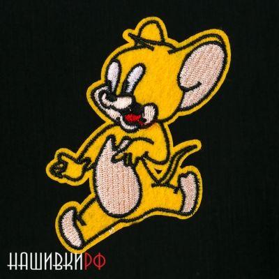 Нашивка мышонок Джери