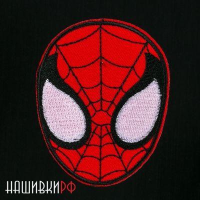 Термо нашивка маска Spider Man