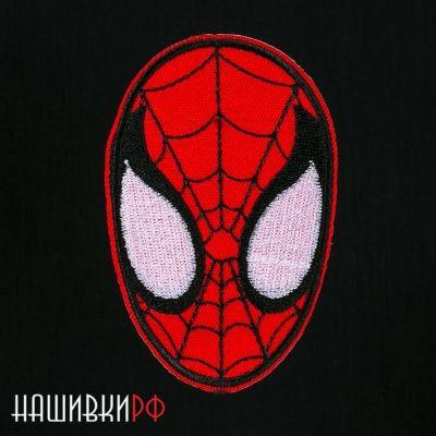 Нашивка маска человека паука
