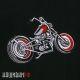 Нашивка мотоцикл