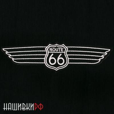 Термо нашивка Route 66 - дорога 66