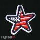 Нашивка звезда с флагом США