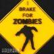 Нашивка тормоз для зомби