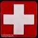 Нашивка крест медицинской помощи