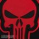 Нашивка красный череп из фильма punisher