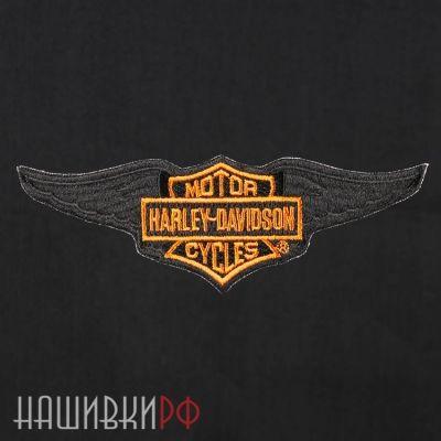 Нашивка крылья Harley