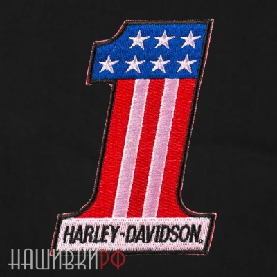 Нашивка general Harley-Davidson