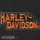 Нашивка с надписью Harley-Davidson