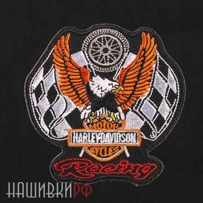 Нашивка Harley-Davidson racing