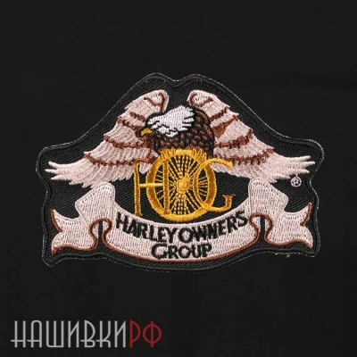 Нашивка HARLEY OWNERS GROUP