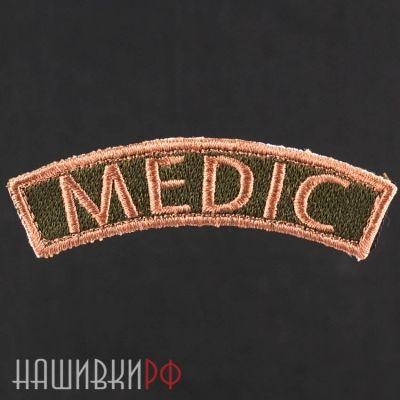 Нашивка изогнутая medic