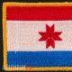 Нашивка флаг Мордовии