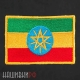 Нашивка флаг Эфиопии