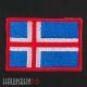 Нашивка флаг Исландии