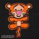 Нашивка Тигра из мультфильма Винни Пух
