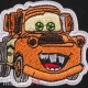Нашивка Фред из мультфильма Тачки